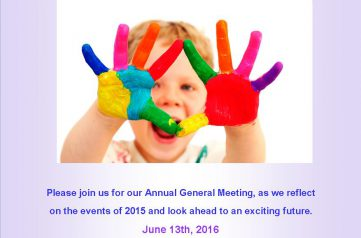 The Children's Foundation AGM Invitation